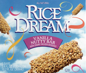 Rice Dream frozen dessert line is part of a new generation of dairy-free deserts that are making their way into the supermarket ice cream aisle to provide alternatives for conscious consumers.
