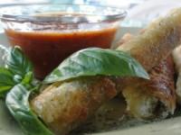 Crispy Pesto Italian Rolls