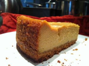 Vegan Pumpkin Cheesecake with Vanilla Coconut Whipped Cream
