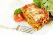 hearty vegan lasagna