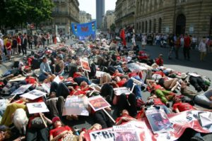 Large Demonstration in Paris Calls for the Closure of Slaughterhouses