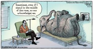 Elephant comic from Bizarro Comics