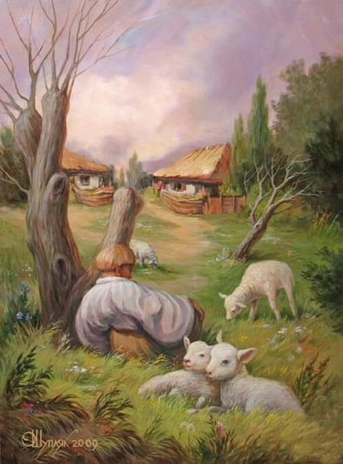 Oleg Shuplyak painting