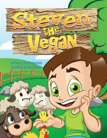 Steven the Vegan book cover