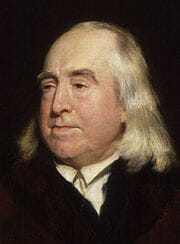 Jeremy Bentham by Henry William Pickersgill