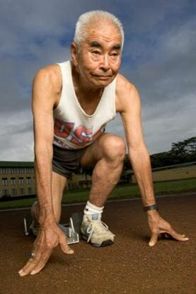 centenarian runner debunks soy myths