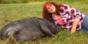 Christine Mariani Egidio, former sheep farmer