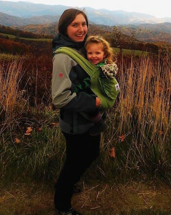 Caitlin-and-Melody-hiking